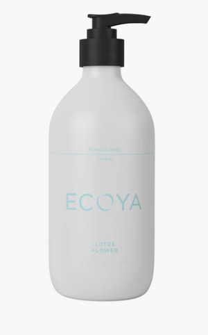 Ecoya Lotus Flower Hand Body Lotion 450ml