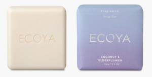 ECOYA Soap Bar Coconut Elderflower 90g