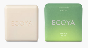 ECOYA Soap Bar French Pear 90g