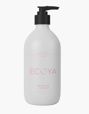 Ecoya Sweet Pea Jasmine Hand Body Lotion 450ml