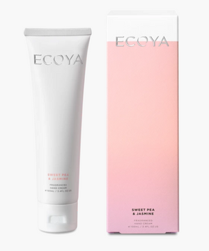 ECOYA Sweet Pea Jasmine Hand Cream 100ml
