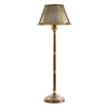 Delaware Table Lamp w Metal Brass Shade