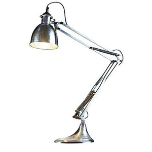 Nevada Desk Lamp Silver