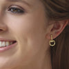 Equestrian Gold Earrings Gold