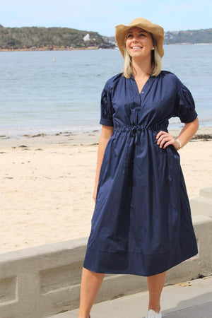 Sunday Dress Navy