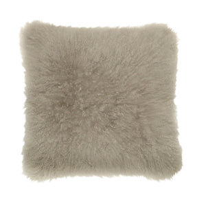 Cashmere Fur Cushion Grey