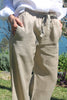 Island Linen Pants Wheat