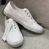 The Penny Plimsole White