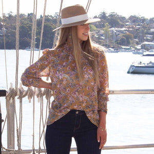 Piper Blouse Floral