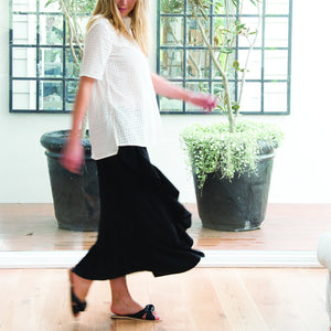 Flamenco Skirt Black