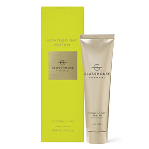 Glasshouse Fragrance Montego Bay Rhythm Hand Cream 100ml