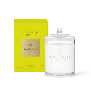 Glasshouse Fragrance Montego Bay Rhythm Candle 380G
