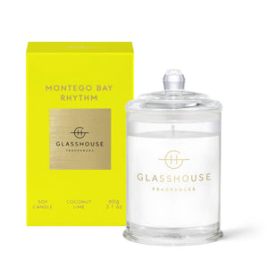 Glasshouse Fragrance Montego Bay Rhythm Mini Candle 60G