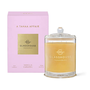 Glasshouse Fragrance Large A Tahaa Affair Candle 760G