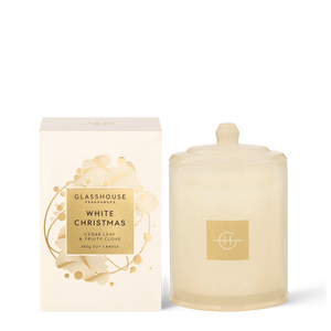 GF Candle White Christmas Candle 20 380G