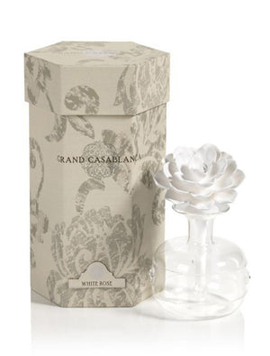 White Rose Grand Casablanca Porcelain Diffuser