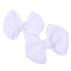 Jessica Bow - 2Pcs White - Small