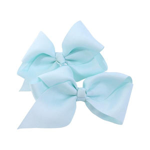 Jessica Bow 2Pcs Aqua Small