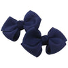 Jessica Bow 2Pcs Navy Small