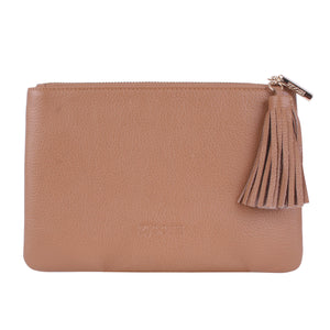 Hanieh Clutch Tan