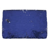 Claudia Sequin Clutch Gunmetal