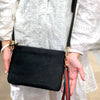 Cowhide Everyday Clutch Black