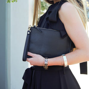 Hayley Clutch Black