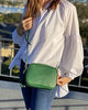 Ruby Sports Cross Body Bag Green