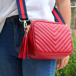 Ruby Speed Cross Body Bag Red