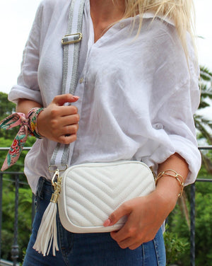 Baby Ruby Speed Cross Body Bag White