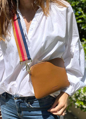 Hugo Cross Body Bag Tan