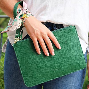 Hayley Clutch Green