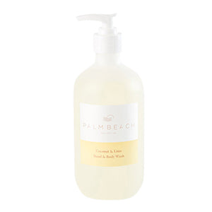 Palm Beach Coconut & Lime Hand & Body Wash 500ml