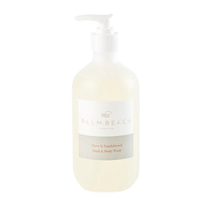 Palm Beach Clove&Sandlewood Hand&Body Wash 500ml