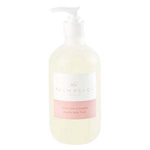 PALM BEACH - WHITE ROSE & JASMINE - HAND & BODY WASH 500ML
