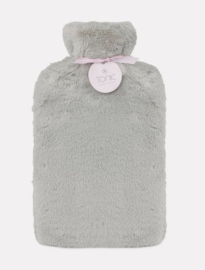 Deluxe Hotwater Bottle Grey