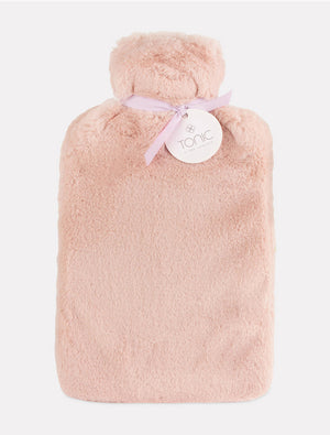 Deluxe Hotwater Bottle Rose