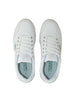 Human Green EMY Leather Sneaker White
