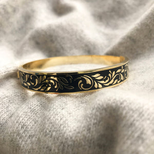 Montfleur Bangle Black