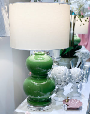 Double Gourd Lamp Green