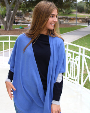 Susanna Traveller Cape Denim
