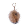 Fur Keyring Tan