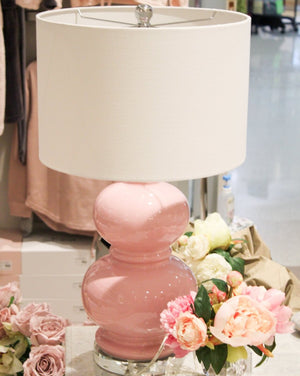 Double Gourd Lamp Pink