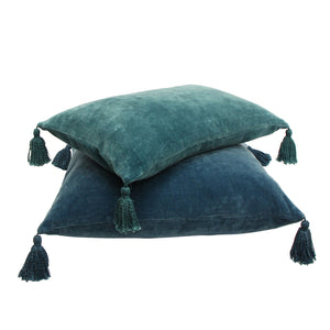 Boudoir Cushion Teal 30cm X 50cm