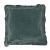 Boudoir Flange Cushion Blue 45cm x 45cm