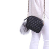 Fur Keyring Grey
