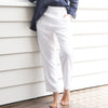Marina Linen Pants White