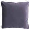 ZJOOSH CLASSIC VELVET CUSHION - DARK GREY