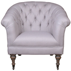 Cynthia Club Chair Pale Blue
