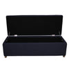 Sinclair Storage Ottoman Navy